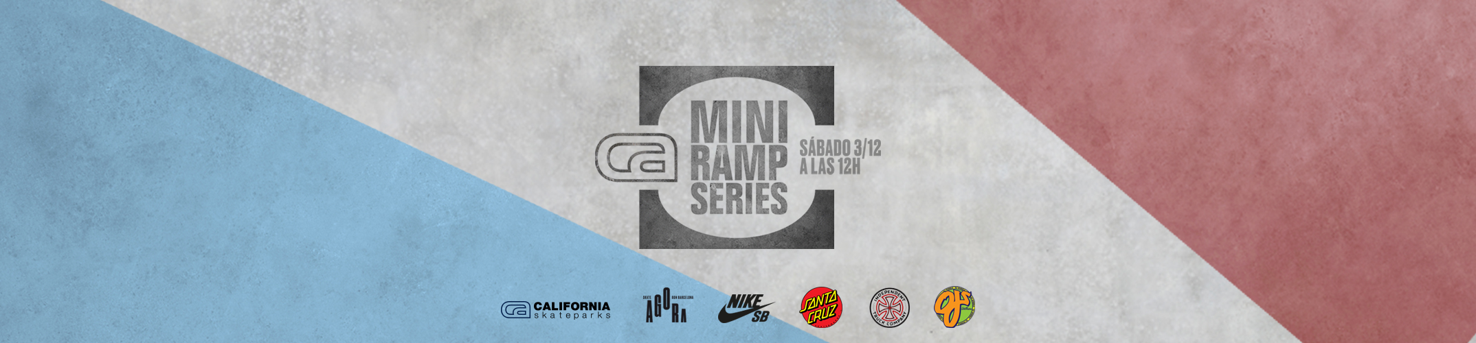 Contest CA Miniramp Series Vol.I, Saturday December 3rd