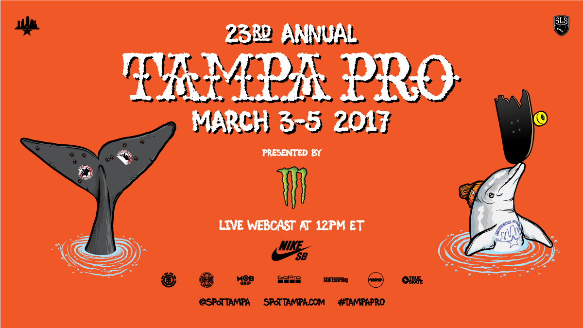 Tampa Pro goes down this weekend!