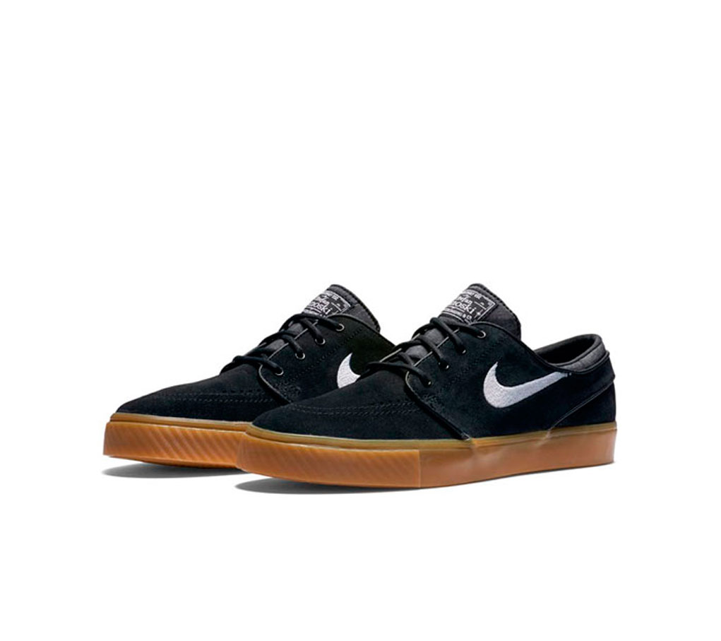 nike sb zoom stefan janoski black skateagora. Black Bedroom Furniture Sets. Home Design Ideas